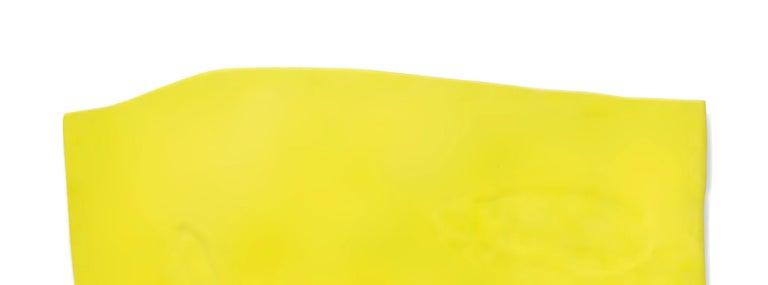 Blob - Yellow Abstract Painting by Jaena Kwon