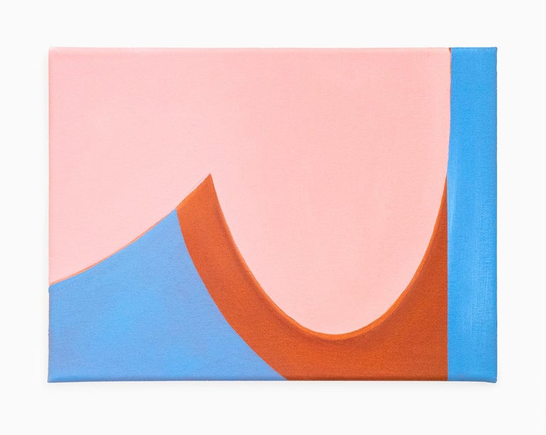 Jaena Kwon Abstract Painting - Curve
