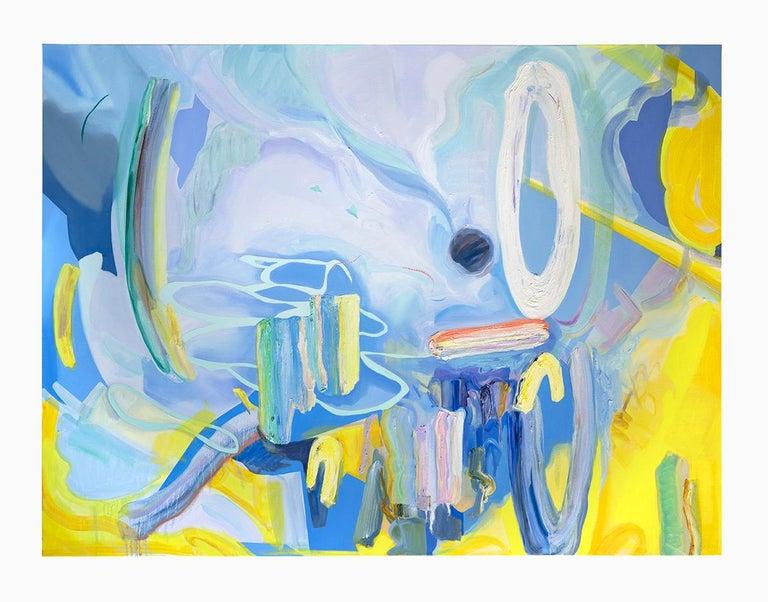 Jaena Kwon Portrait Painting - Summer Breeze
