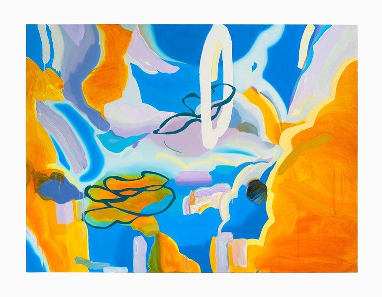 Jaena Kwon Abstract Painting - Sunset