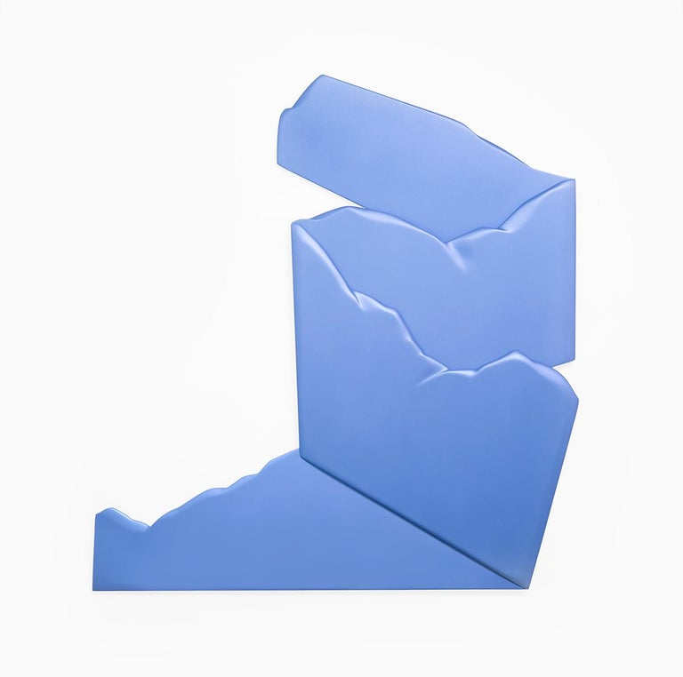 Jaena Kwon Abstract Sculpture - Blue Flash