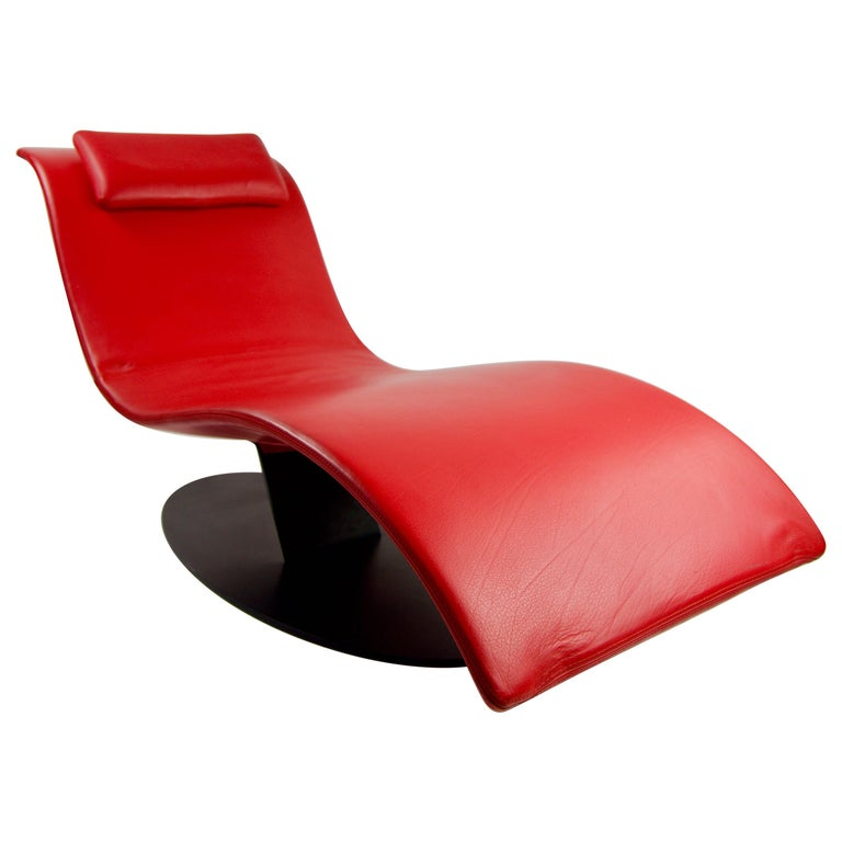 Jai Jalan Minimalist Eli Fly Chaise Lounge by Desiree For