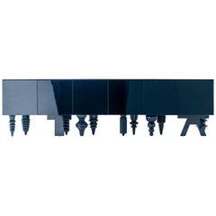 Jaime Hayon Blue Multileg Showtime Ten Cabinet