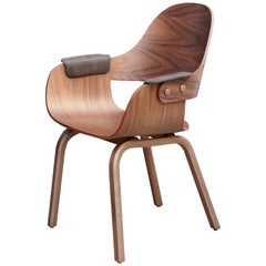 Jaime Hayon, Contemporary, Armrest Upholstered, Wood Chair Showtime Nude