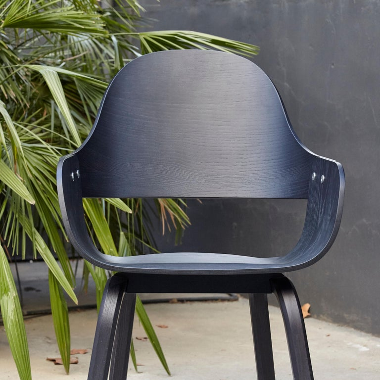 Jaime Hayon, Contemporary, Black Wood Chair Showtime Nude by BD Barcelona For Sale 2