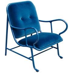 Jaime Hayon Contemporary Blue Gardenias Indor Armchair