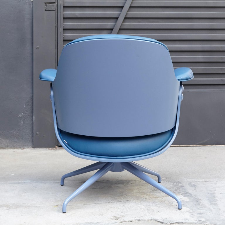 Spanish Jaime Hayon, Contemporary, Blue Low Lounger Armchair For Sale