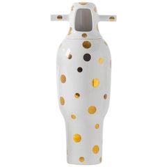 Jaime Hayon Contemporary Glazed Stoneware 'Showtime 10' Vase Number 4