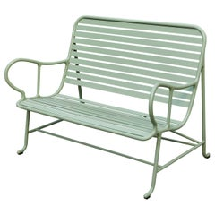 Jaime Hayon Contemporary Green Sculptural 'Gardenias' Outdoor Bench for BD