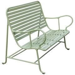 Jaime Hayon Contemporary Green Sculptural 'Gardenias' Outdoor Bench for BD