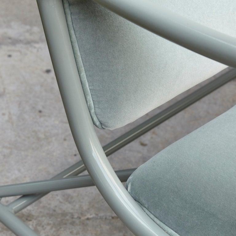Jaime Hayon Contemporary Green Velvet Sculptural 'Gardenias' Indor Bench for BD For Sale 4