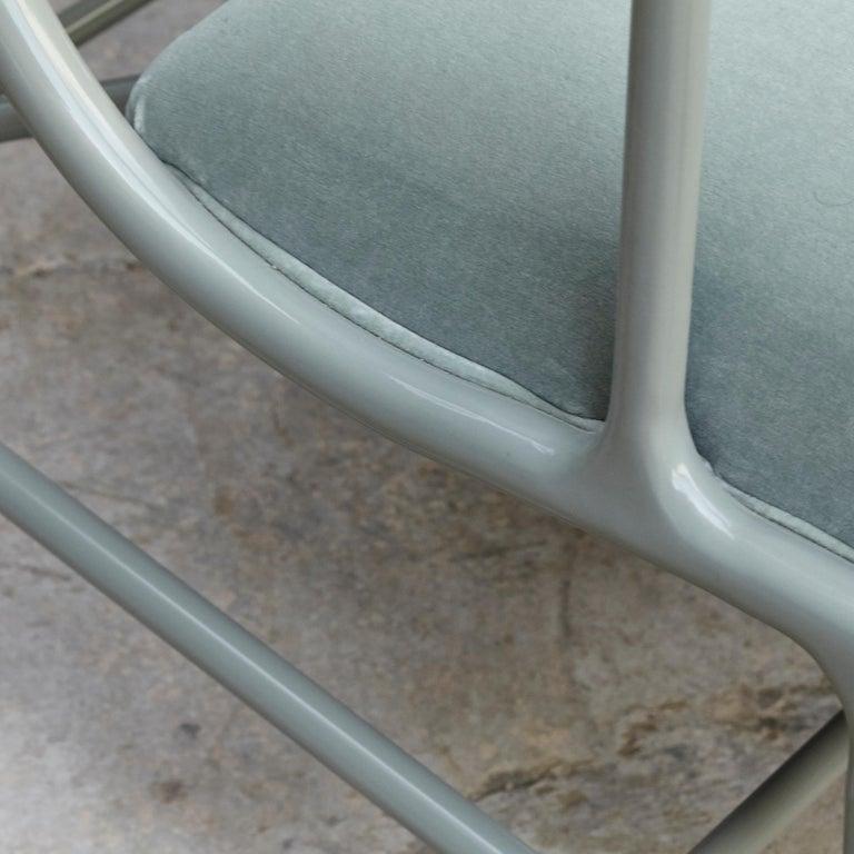 Jaime Hayon Contemporary Green Velvet Sculptural 'Gardenias' Indor Bench for BD For Sale 5