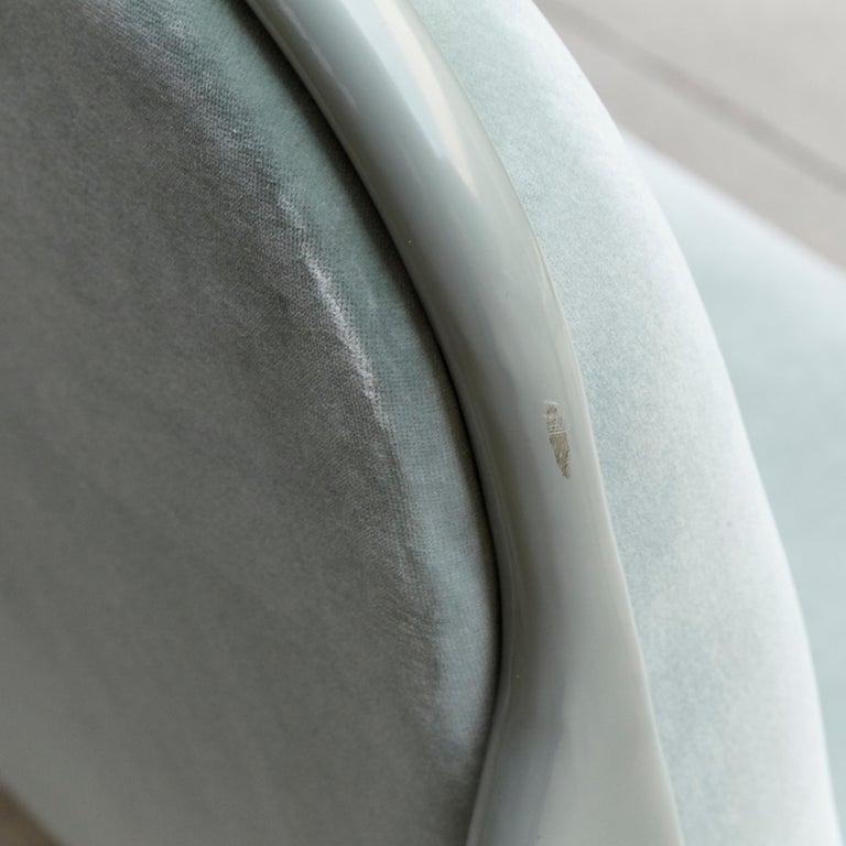 Jaime Hayon Contemporary Green Velvet Sculptural 'Gardenias' Indor Bench for BD For Sale 6