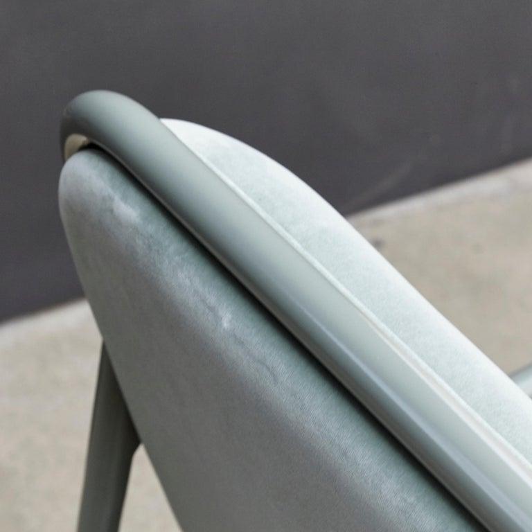 Jaime Hayon Contemporary Green Velvet Sculptural 'Gardenias' Indor Bench for BD For Sale 7