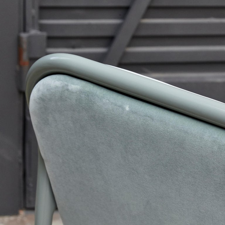 Jaime Hayon Contemporary Green Velvet Sculptural 'Gardenias' Indor Bench for BD For Sale 9