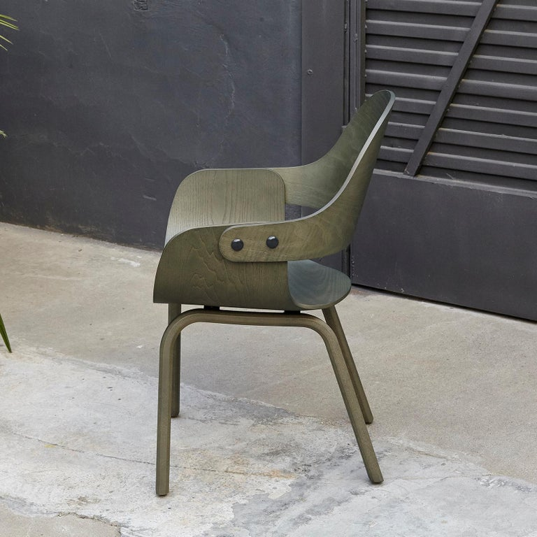 Design by Jaime Hayon, 2007 Manufactured by BD Barcelona.  Measures: 52 x 55 x H.86 cm. Seat and backrest in plywood.