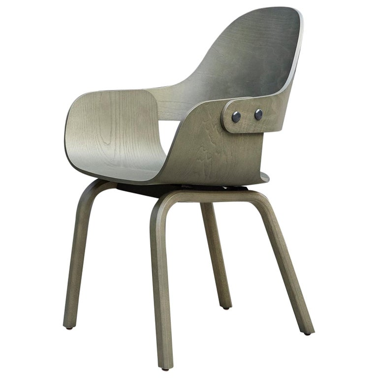 Jaime Hayon, Contemporary, Green Wood Chair Showtime Nude by BD Barcelona For Sale
