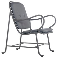 Jaime Hayon Contemporary Grey Gardenias Outdoor Armchair