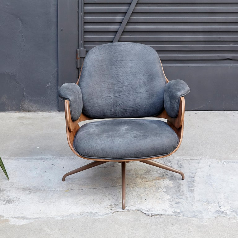 Modern Jaime Hayon, Contemporary, Leather Upholstery Low Armchair For Sale