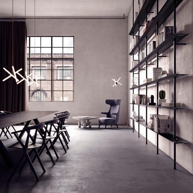 Aluminum Jaime Hayon, Contemporary Monocolour Grey Upholstery Dino Armchair For Sale