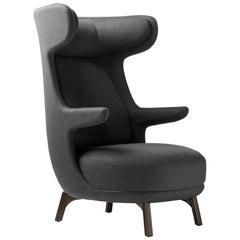 Jaime Hayon, Contemporary Monocolour Grey Upholstery Dino Armchair