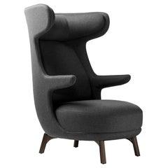 Jaime Hayon, Contemporary Monocolor Grey Upholstery Dino Armchair