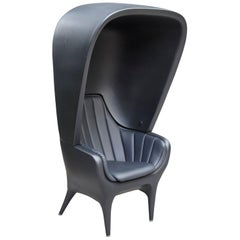 Jaime Hayon Contemporary Showtime Armchair Black Poltrona