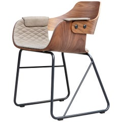 Jaime Hayon, Contemporary, Upholstered Wood Chair Showtime by BD Barcelona