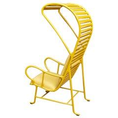 Jaime Hayon Contemporary Yellow Gardenias Indoor Armchair with Pergola