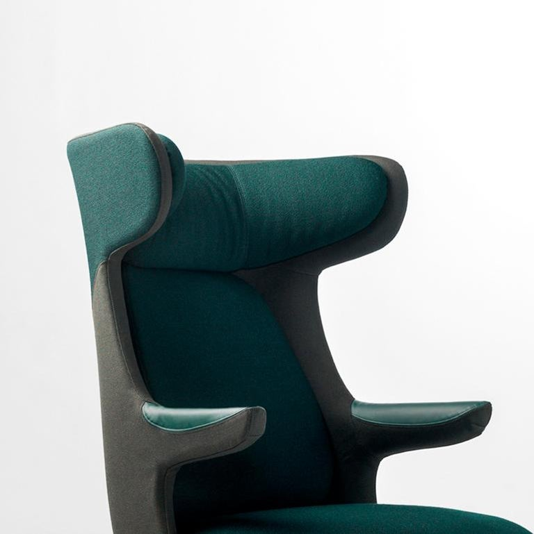 Modern Jaime Hayon, Dino Armchair Contemporary Green Hayon Edition Upholstery For Sale