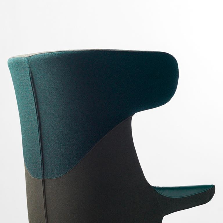 Jaime Hayon, Dino Armchair Contemporary Green Hayon Edition Upholstery In New Condition For Sale In Barcelona, Barcelona