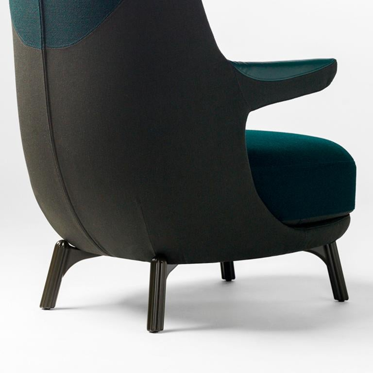 Aluminum Jaime Hayon, Dino Armchair Contemporary Green Hayon Edition Upholstery For Sale