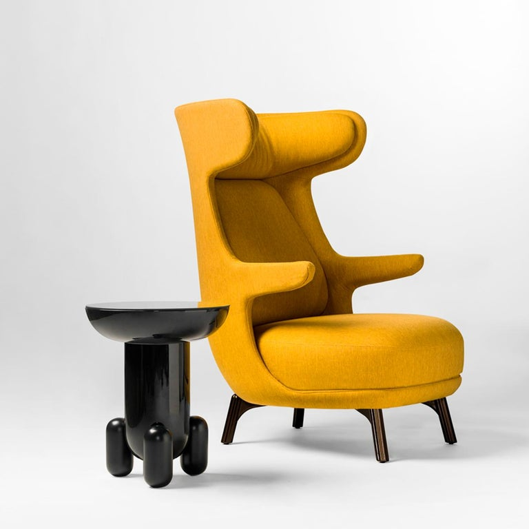 Jaime Hayon, Dino Armchair Contemporary Green Hayon Edition Upholstery For Sale 2