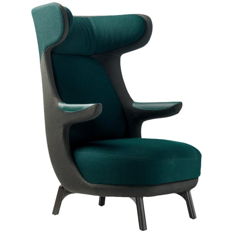 Jaime Hayon, Dino Armchair Contemporary Green Hayon Edition Upholstery For Sale