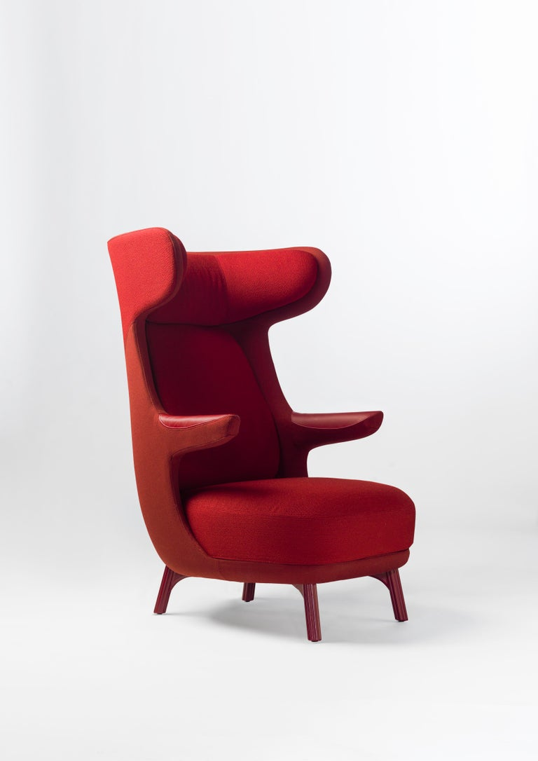 Jaime Hayon Dino Armchair in Fabric or Leather Upholstery by Bd Barcelona For Sale 4