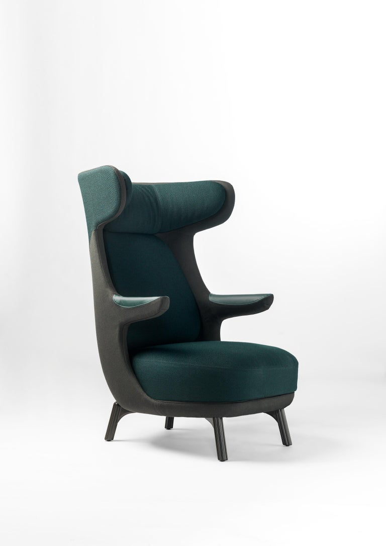 Jaime Hayon Dino Armchair in Fabric or Leather Upholstery by Bd Barcelona For Sale 2