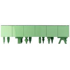 Jaime Hayon Green Multileg Showtime Cabinet