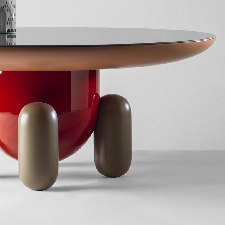 Modern Jaime Hayon Multi-Color Explorer #03 Table by BD Barcelona For Sale