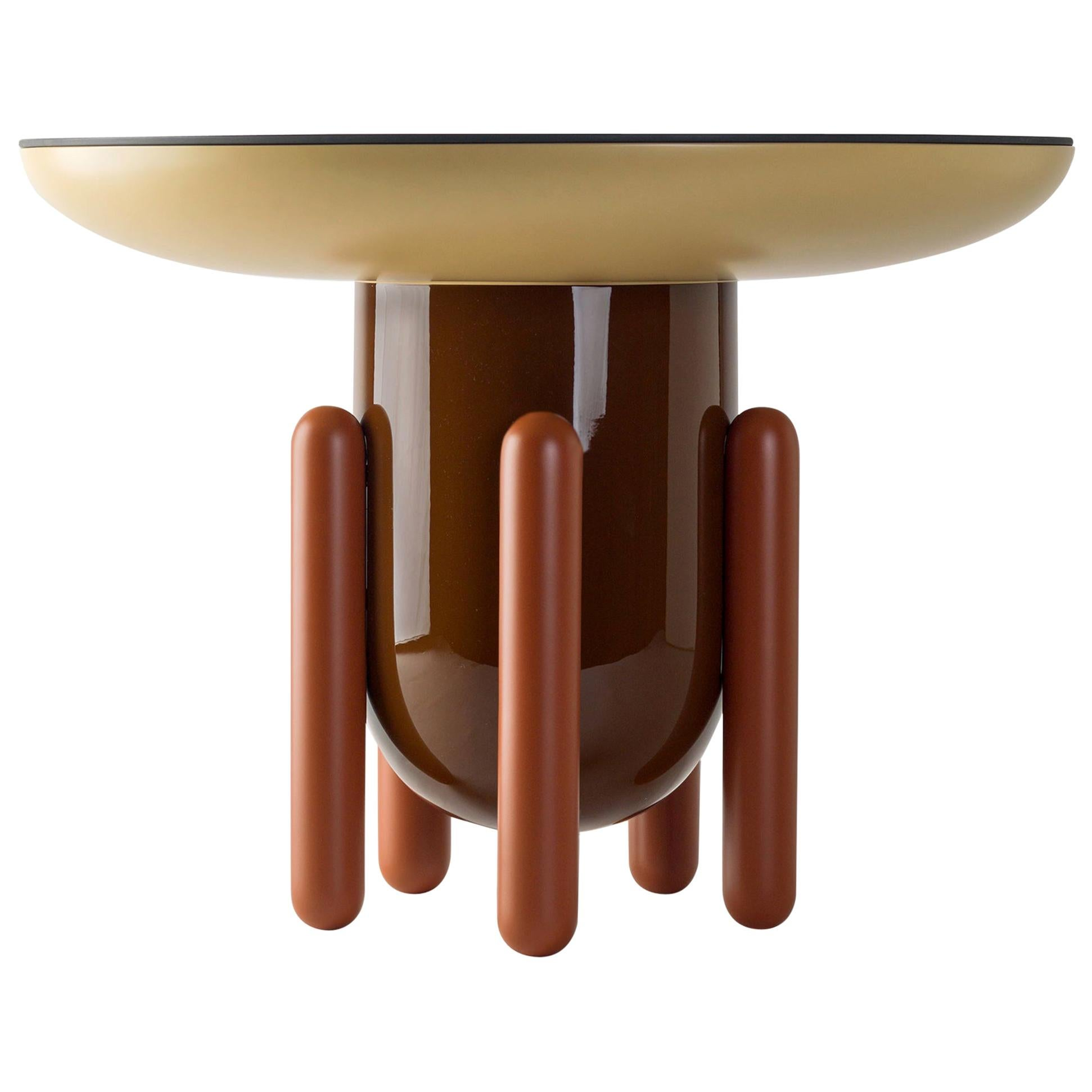 Jaime Hayon Multi-Color Contemporary Explorer #02 Table by BD Barcelona