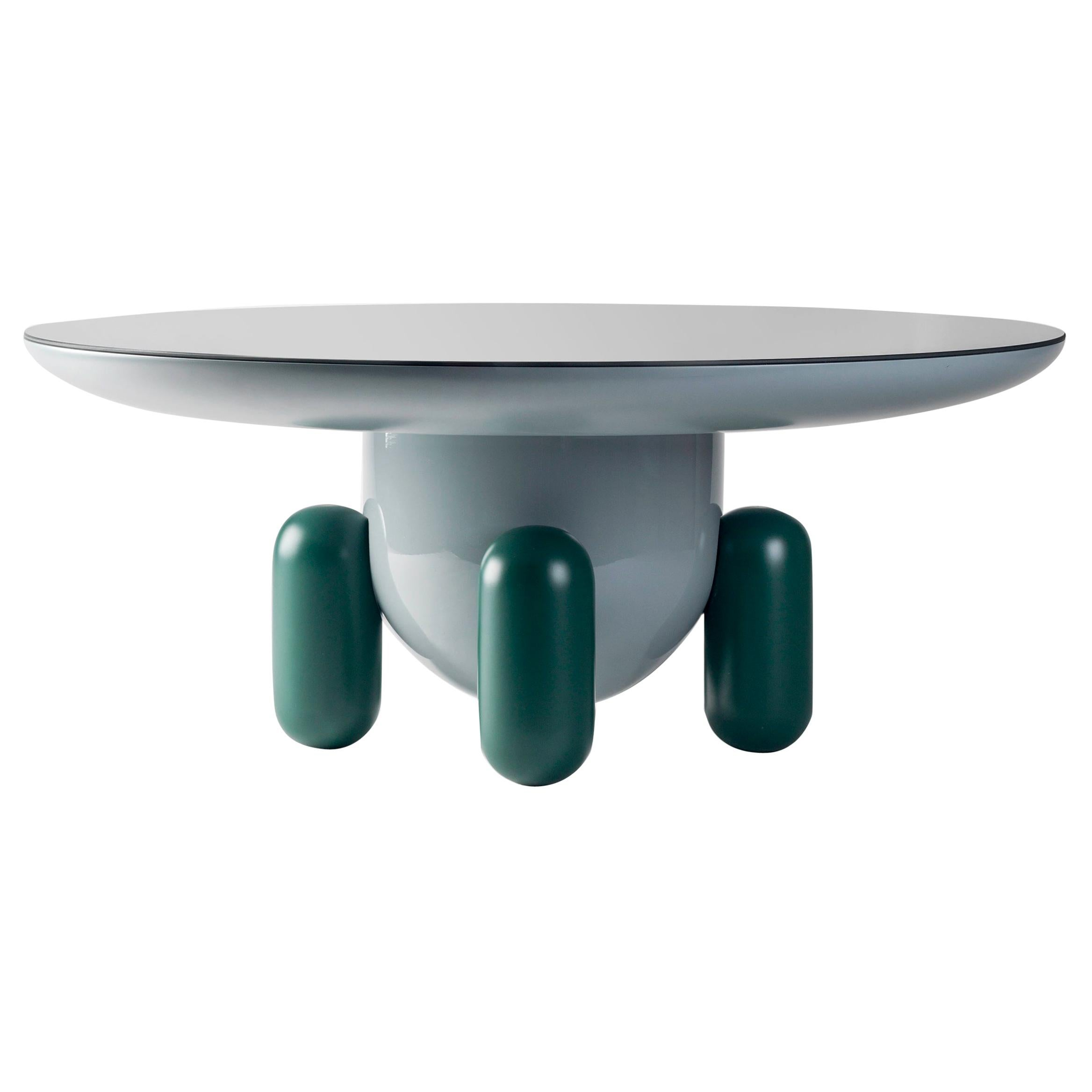 Jaime Hayon Multi-Color Green Explorer #03 Table by BD Barcelona