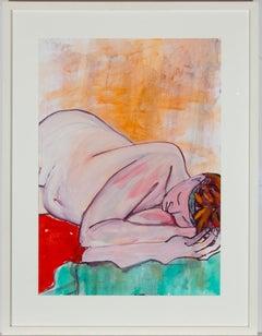 Jain Wallis - Large, Framed Contemporary Acrylic, In Dreams