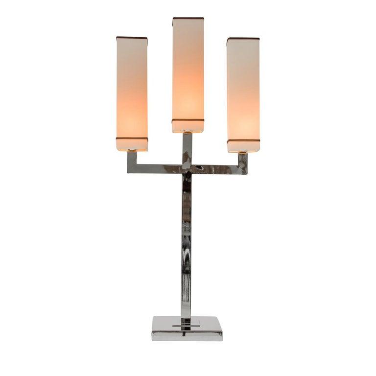Modern Jaipur 3-Light Table Lamp