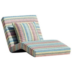 Jalamar Outdoor Multicolor Stripes Chaise Longue by MissoniHome