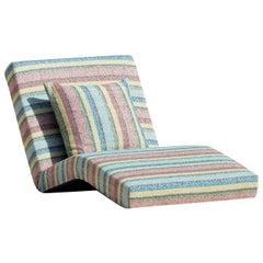 Jalamar Outdoor Multicolor Stripes Chaise Longue by MissoniHome