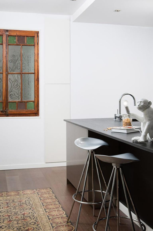 Modern Jamaica aluminium bar stool For Sale