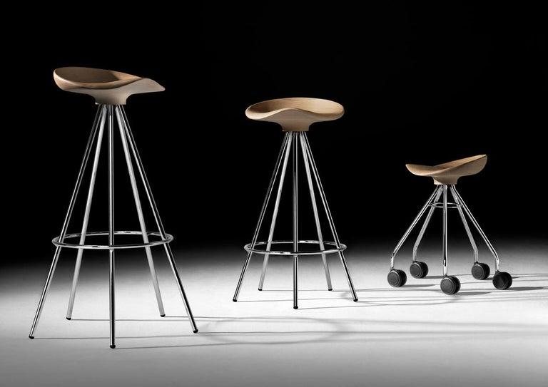 Spanish Jamaica bar stool, Wood Seat For Sale