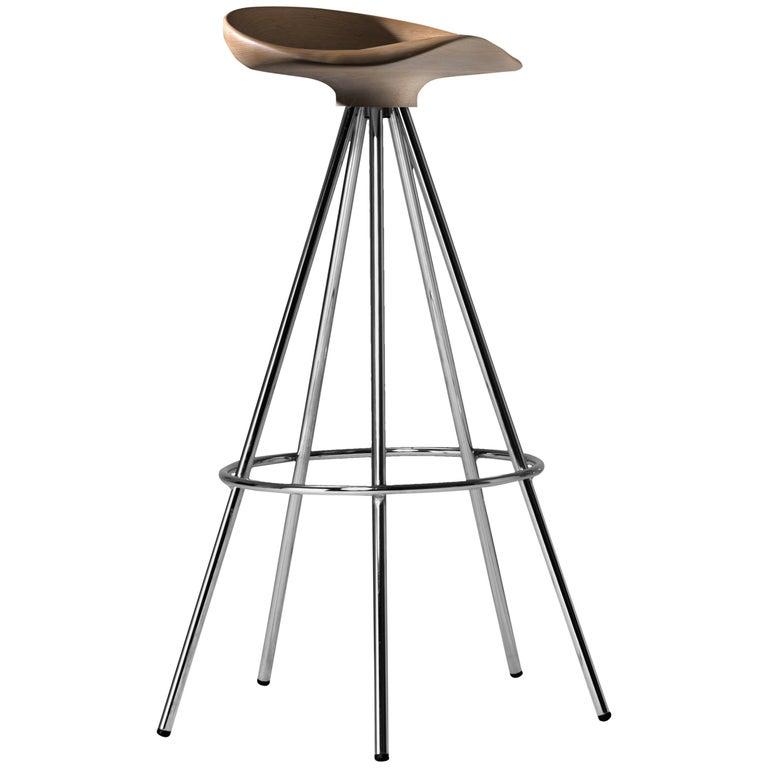 Jamaica bar stool, Wood Seat For Sale