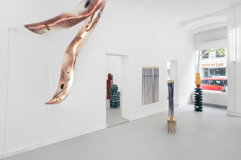 Contemporary Hanging Lighting 'Jamboree by Walden Pond II' by Hilda Hellström In Distressed Condition For Sale In Copenhagen, DK