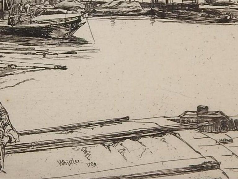 Paper James Abbott McNeill Whistler Etching, 1959,
