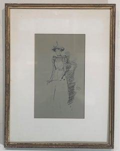 Gants de Suède a Lithograph by James A M Whistler, 1890
